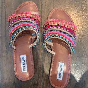 Steve Madden Fiesta Sandals 💗💜